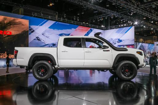 2019 Toyota Tacoma TRD Pro Side