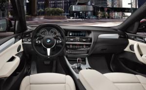 2020 BMW X4 Interior
