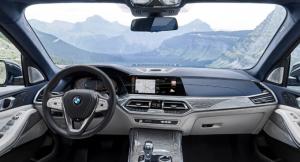 2021 BMW X7 interior