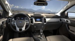 2021 Ford Ranger interior