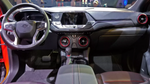 2020 Chevy Trailblazer interior