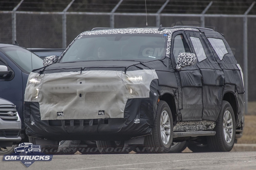 2020 Chevrolet Tahoe Engine