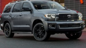 2021 Toyota Sequoia Spy Shots
