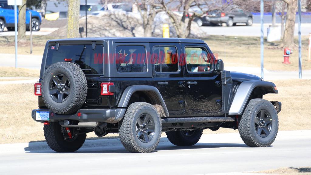 2021 Jeep Wrangler Specs