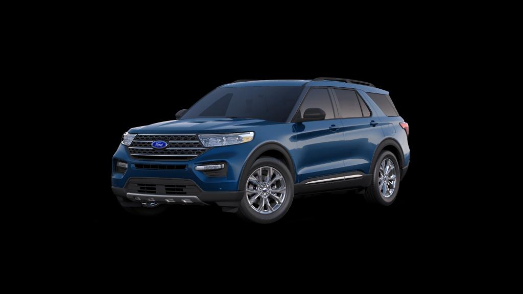 2021 Ford Explorer XLT Spy Photos