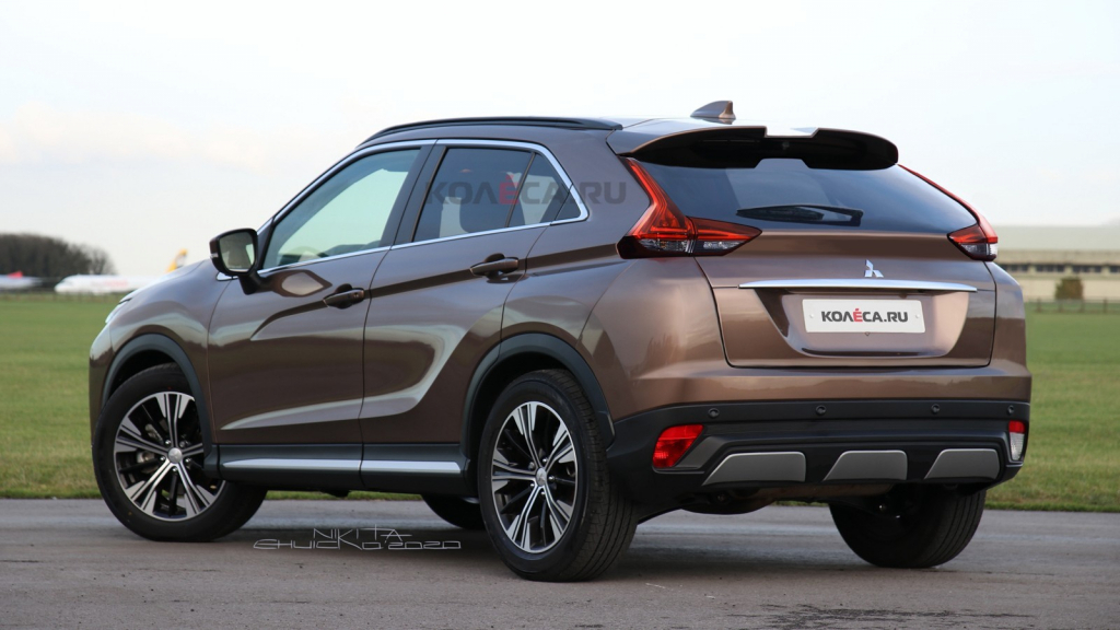 2021 Mitsubishi Eclipse Cross Pictures