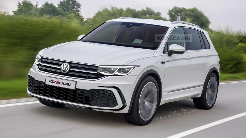 2022 VW Tiguan Powertrain