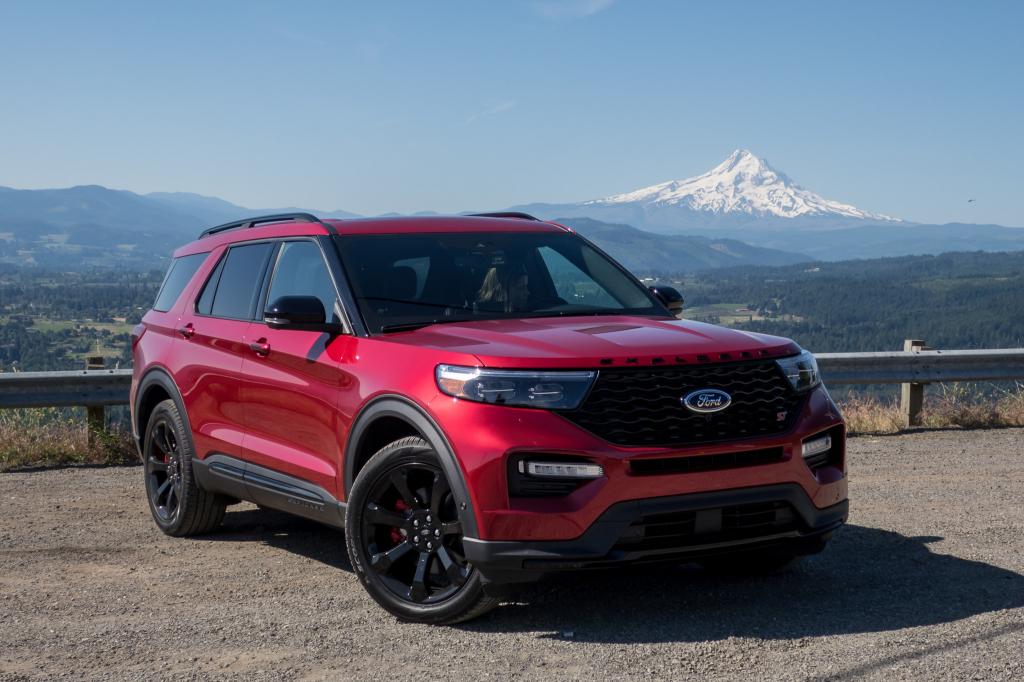 2021 ford explorer st spy shots  us newest cars
