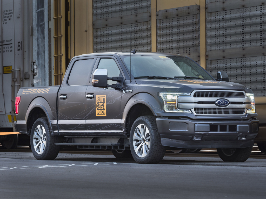 2021 Ford F150 Electric Exterior