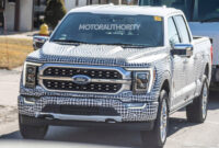 2021 Ford F150 Electric Spy Photos