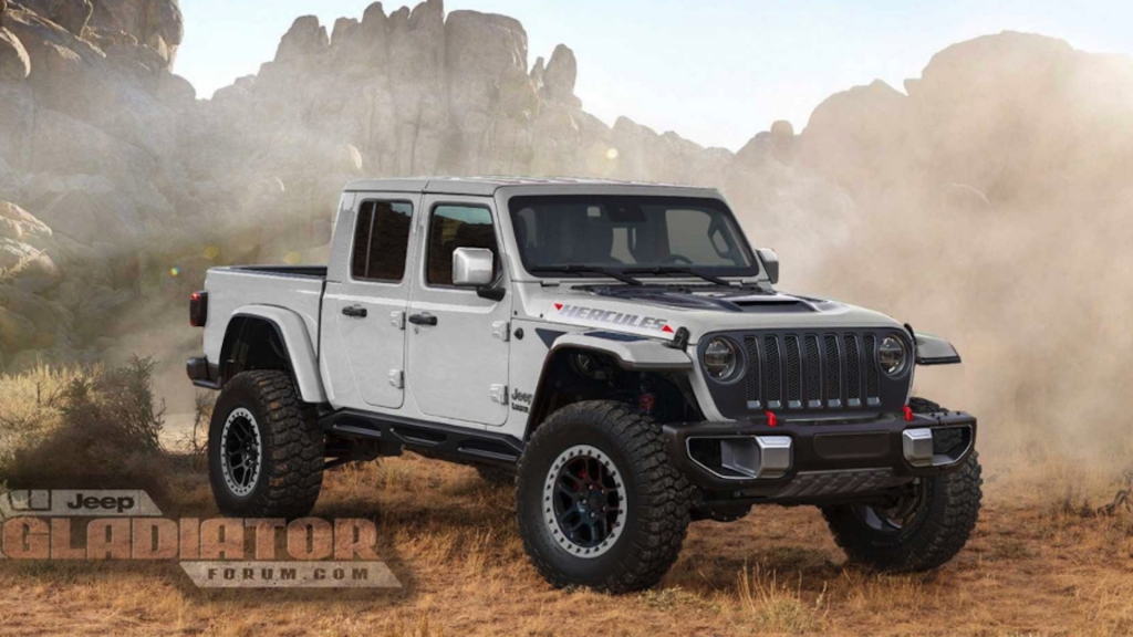 2021 jeep gladiator exterior  us newest cars