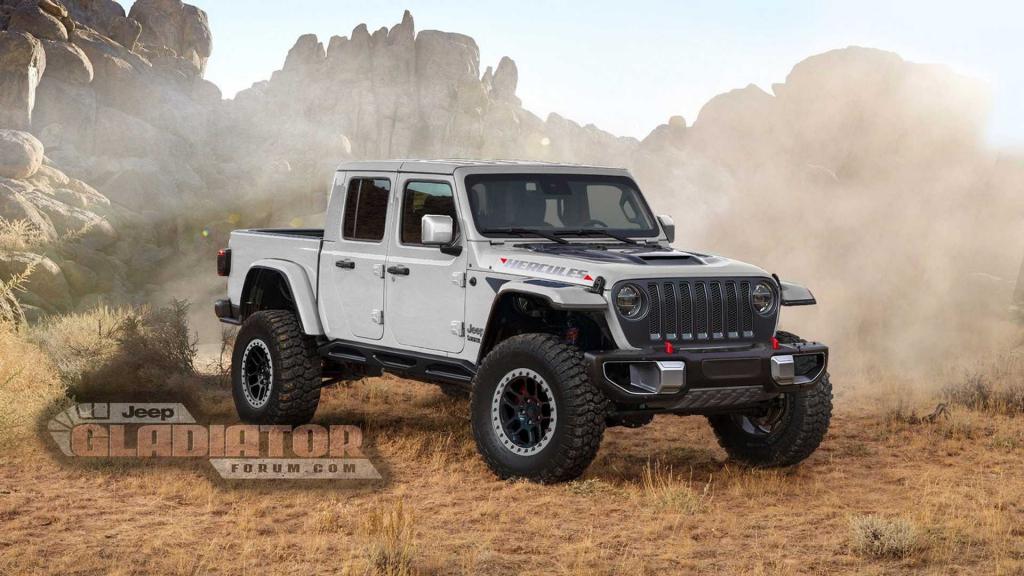 2021 Jeep Gladiator Hercules Powertrain